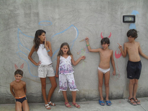 Murales scenetta