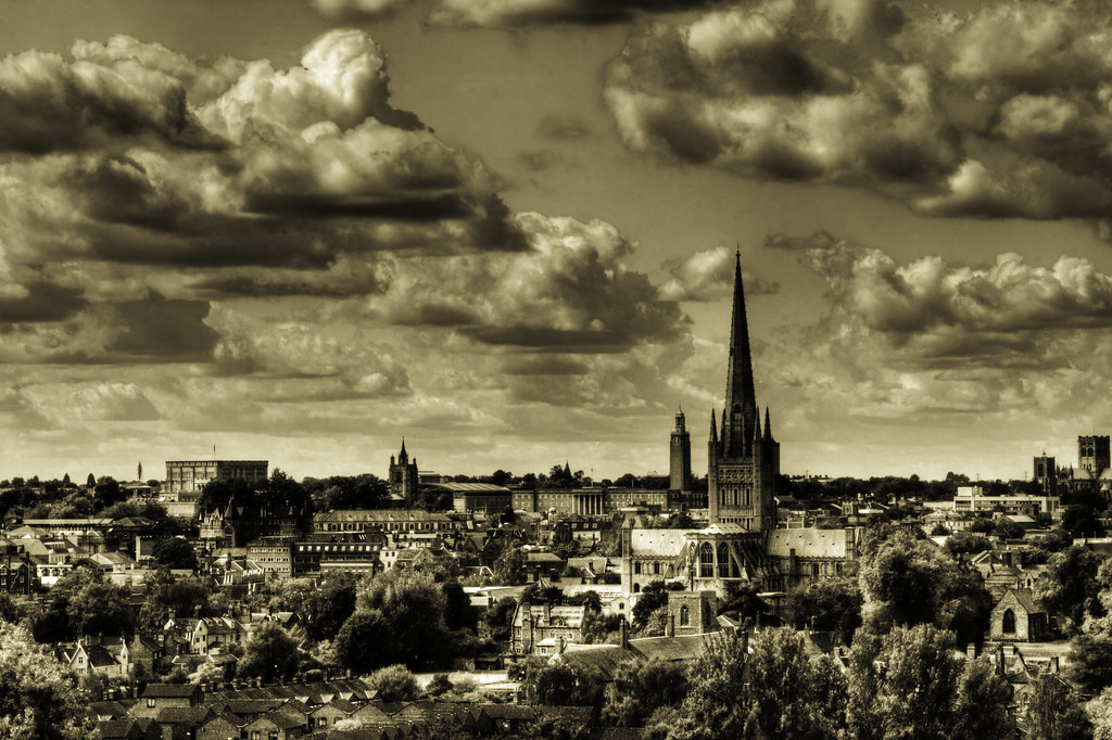 Cityscape, Norwich UK