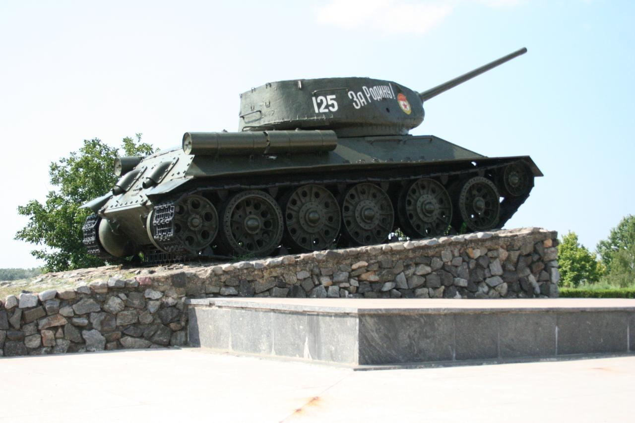 Monumento de guerra em Tiraspol na Pridnestróvia