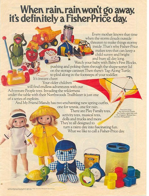 Fisher Price toys-1978