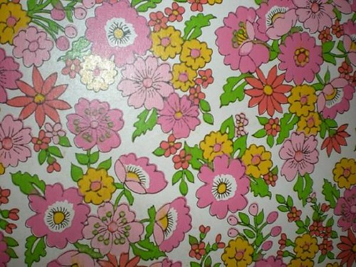 1960s floral wal...1960s Wallpaper
