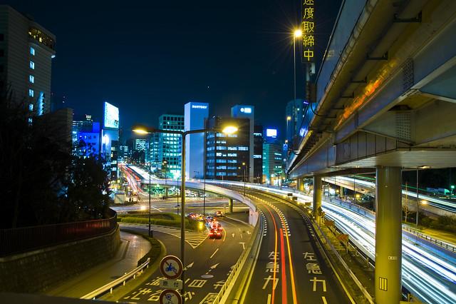 Tokyo City Night Shoot