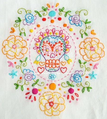 Marigold Sugar Skull