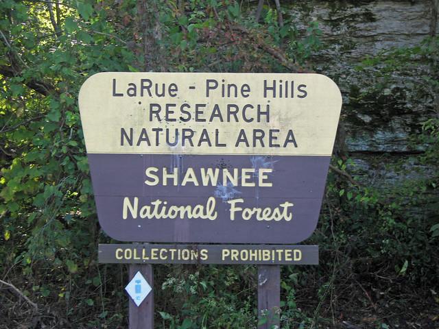 Larue-Pine Hills, Shawnee National Forest