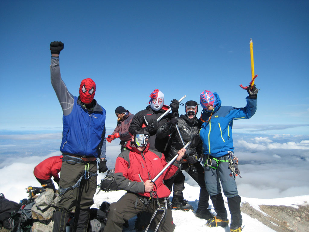 Guided Climb And Expedition To Orizaba Ixta Mexico Volcanoes - Active volcanoes in mexico