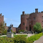 Powis castle central court