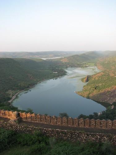 Taragarh Fort Walls