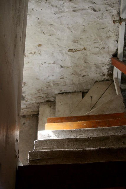 my creepy basement stairs