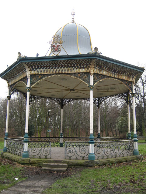 Bandstand - Exhibition park