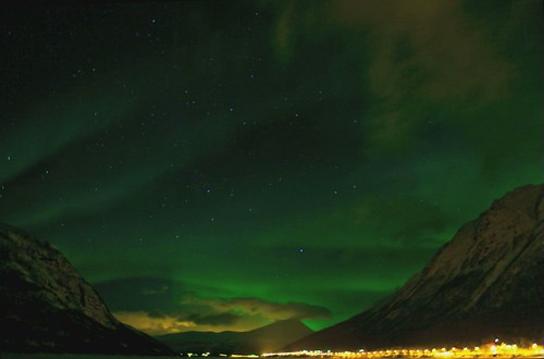 Ramsfjord Northern Lights Timelapse