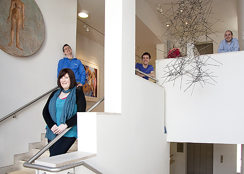 Chichester Design team at Pallant House