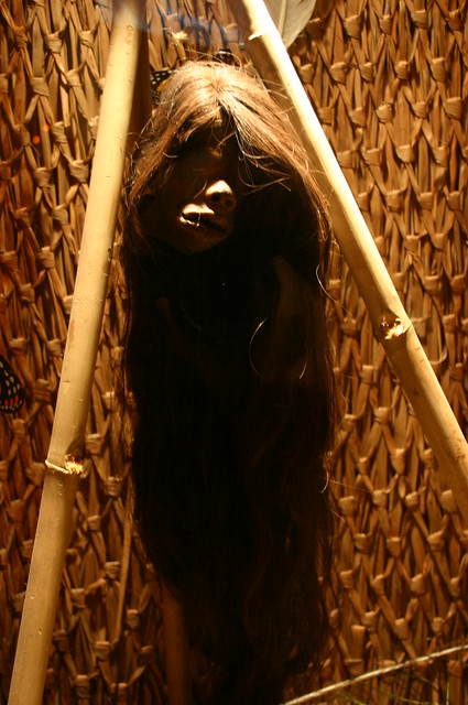 shrunken head jivaro indians of ecuador flickr photo