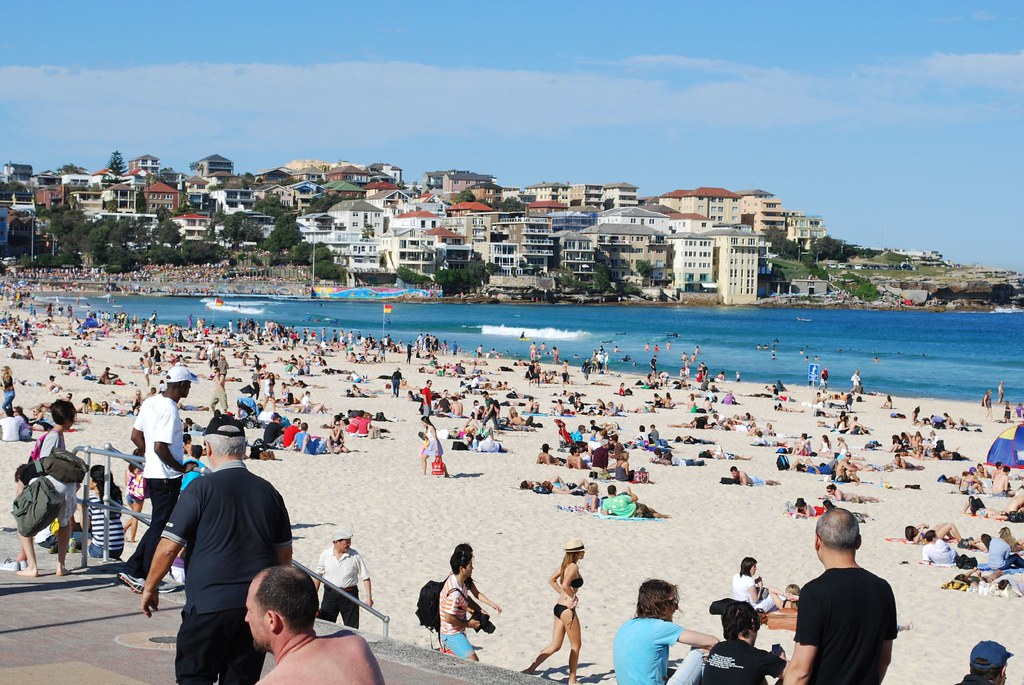 Looking North - Bondi Beach
