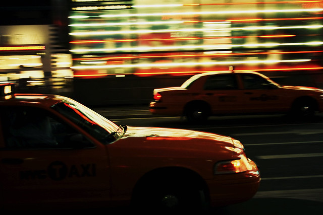 Time Square Taxis