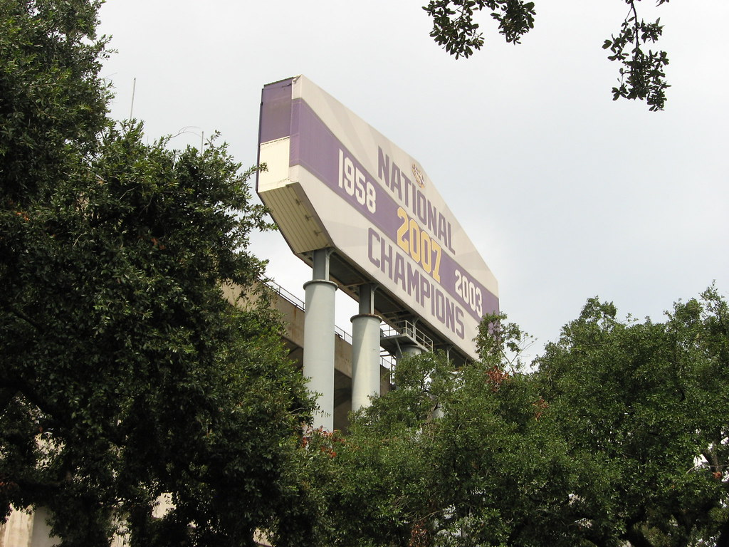 Tiger Stadium, aka Death Valley, Louisiana State University (LSU), Baton Rouge, Louisiana (2)