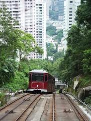 metropolitan area, funicular, vehicle, train, transport, rail transport, public transport, locomotive, residential area, rolling stock, track, land vehicle, railroad car,