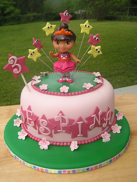 Dora Birthday Cake Flickr - Photo Sharing!