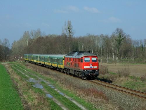 rail railway ludmilla vonat vasút mozdony gyesev 651008 péterhida komlósd