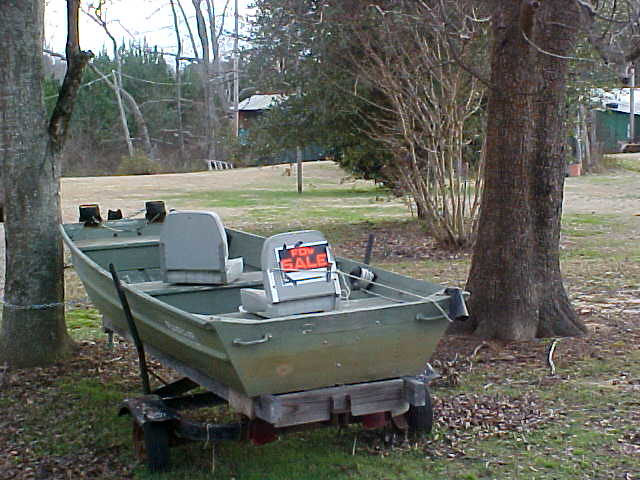 Small fishing boat for sale tishomingo co mississippi for Small fishing boats for sale