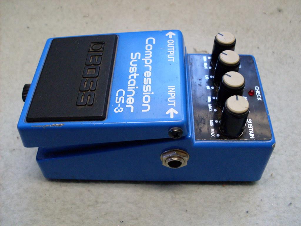 Effetti per chitarra: funzionamento del compressore