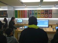 PCBC 5 Apple Store Nagoya Presentation