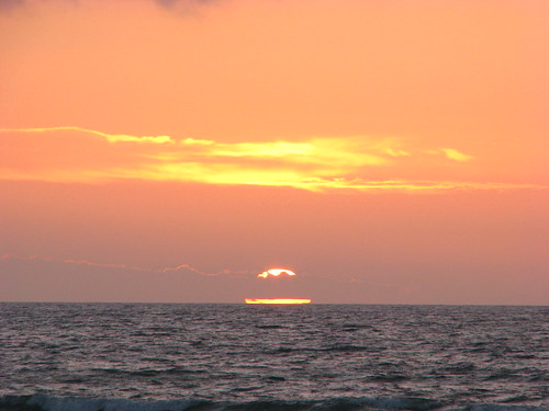 new sunset newzealand beach zealand nz february 2009 onlocation waitarere kiwifrenzy februauy