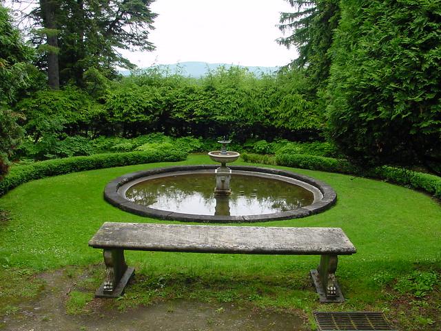 Evergreen garden reflecting pool flickr photo sharing for Garden reflecting pool