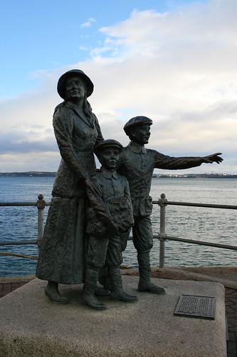Annie Moore in Cobh