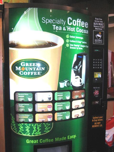 k cups vending machine