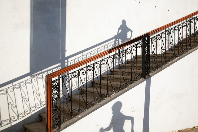 Shadows - Chefchaouen, Morocco - Great Examples of Shadows in Street Photography
