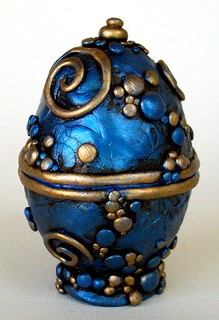 Blue and Gold Egg Box image 2