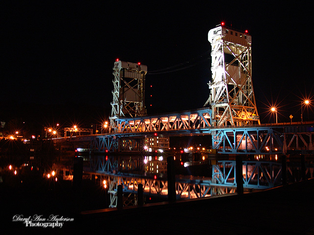 9482 Portage Lift Bridge from Houghton, MI