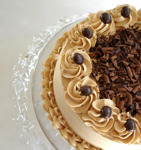 Vanilla Mocha Cake
