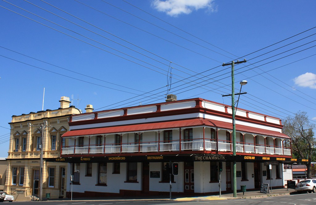 Chambers Hotel (formerly the Commercial Hotel), Gympie, Queensland.