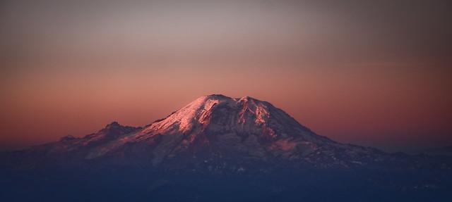 Mt. Rainer at Sunrise