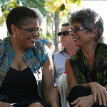 California Assembly Speaker Karen Bass and California Inspector General Laura Chick