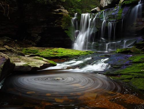 Elakala Waterfalls Swirling Pool
