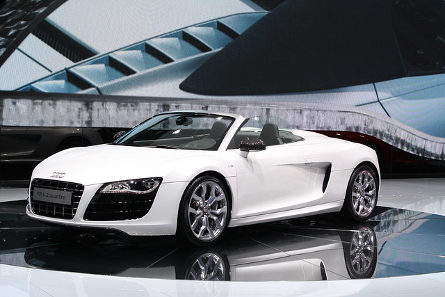 audi r8 cabrio flickr photo sharing. Black Bedroom Furniture Sets. Home Design Ideas