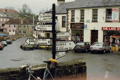 Drumshanbo with Post Office, Co. Leitrim, March 1991