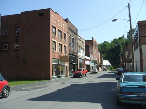 Downtown Matoaka, WV