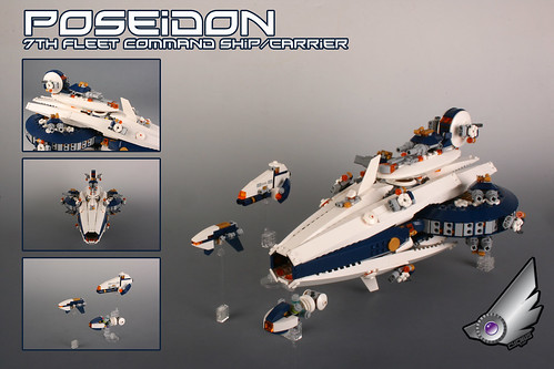 """POSEIDON"" 7th Fleet command ship/ carrier"