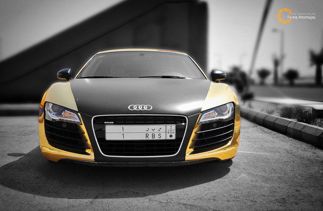 Audi R8 | The Golden Beast