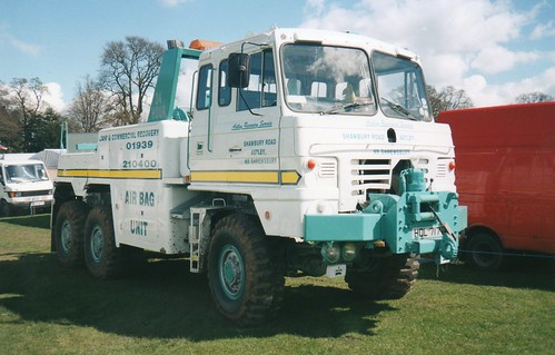 Foden 6x6 Recovery