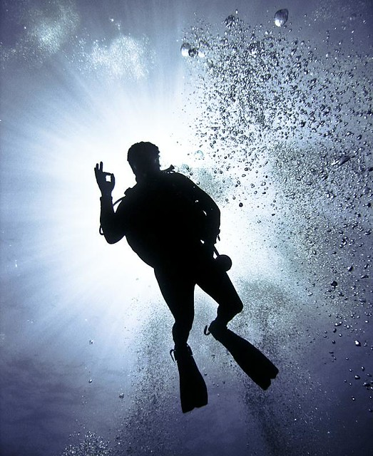 "* Underwater Sign 4 ""Cool Man"""