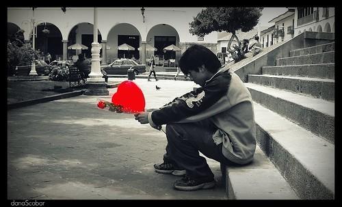 Dia del Amor y la amistad, San Valentin Solitario