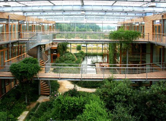 IBN Wageningen atrium