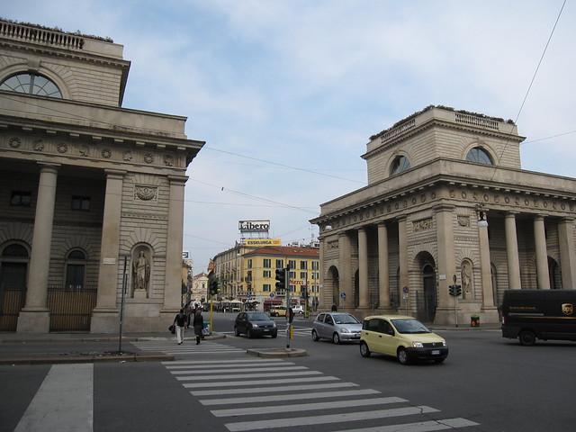 Bastioni di porta venezia once known as porta orient - Bastioni di porta venezia ...