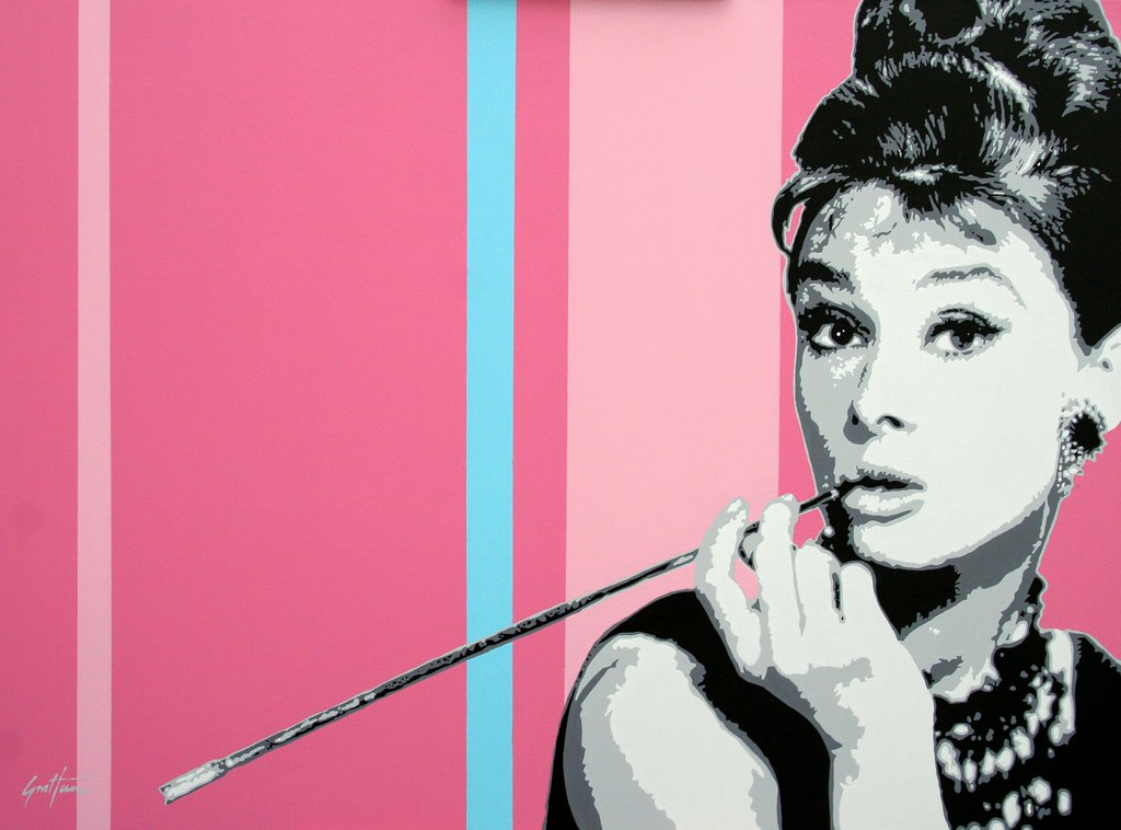 audrey hepburn pop art a photo on flickriver
