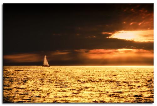 sunset sea sky naturaleza sun seascape art sol nature clouds mexico atardecer gold golden boat mar barco arte dramatic paisaje cielo nubes alfredo sail bote dramatico nikond3