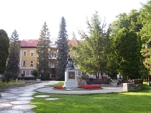 Bardejov Spa memorial to the Tzarina